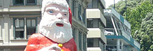 I interviewed the new-look Whitcoulls Santa…