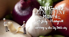 The inaugural Auckland Restaurant Month begins