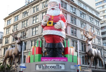 I interviewed the Whitcoulls Santa…