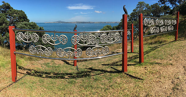 The Waiheke Sculpture on the Gulf walk