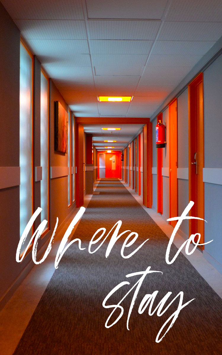 Where to stay banner